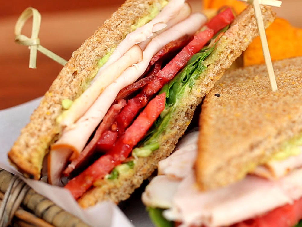 Turkey Avocado BLT