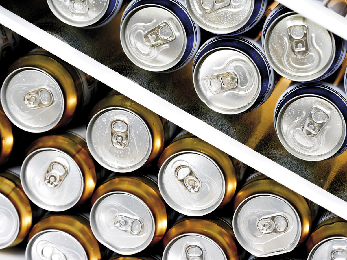 Don't Crush Aluminum Cans Before You Recycle Them