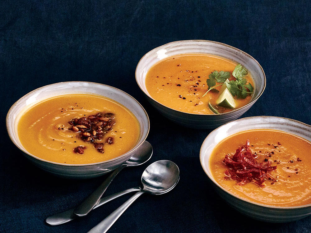 Chipotle-Spiced Pumpkin Soup