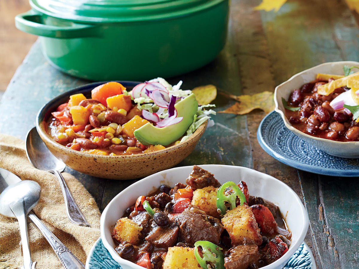 Slow-Cooker Brisket Chili