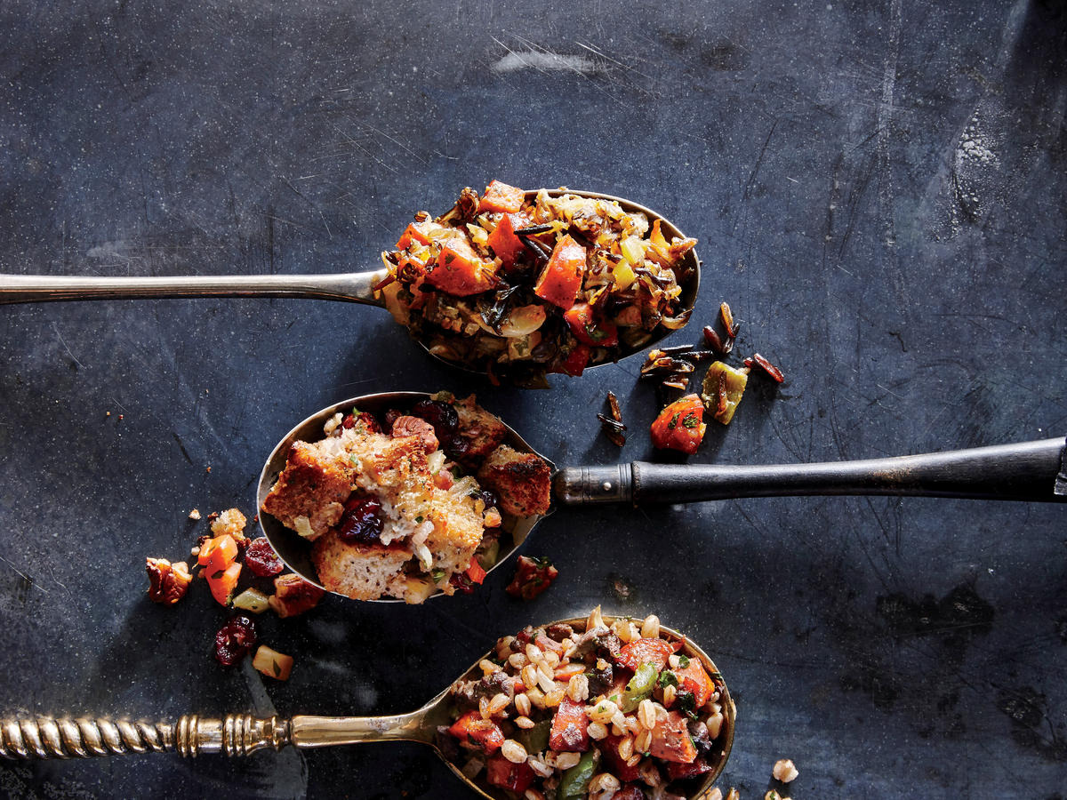 Apple, Cranberry, and Pecan Stuffing