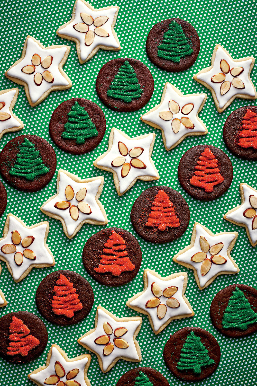 Chocolate Cutout Cookies image