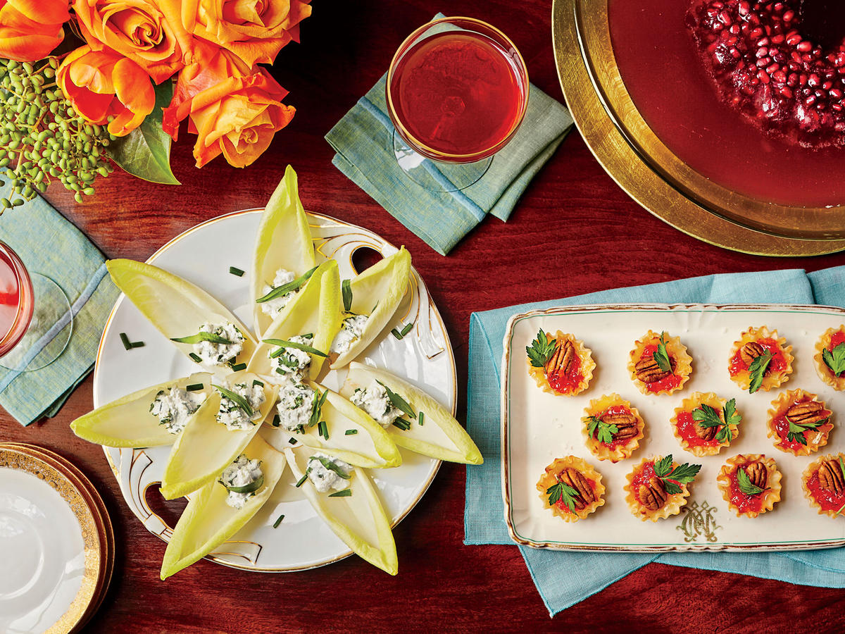 Stuffed Endive with Herbed Goat Cheese image