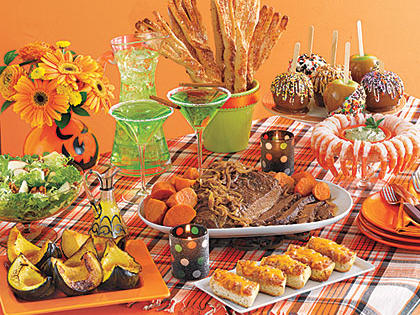 Halloween Dinner Menu