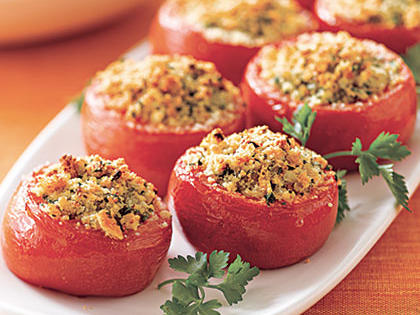 Herb-Stuffed Tomatoes