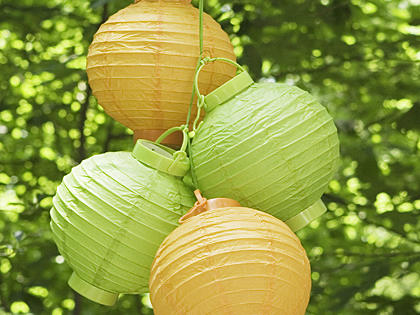 How to Make Paper Lantern Structures
