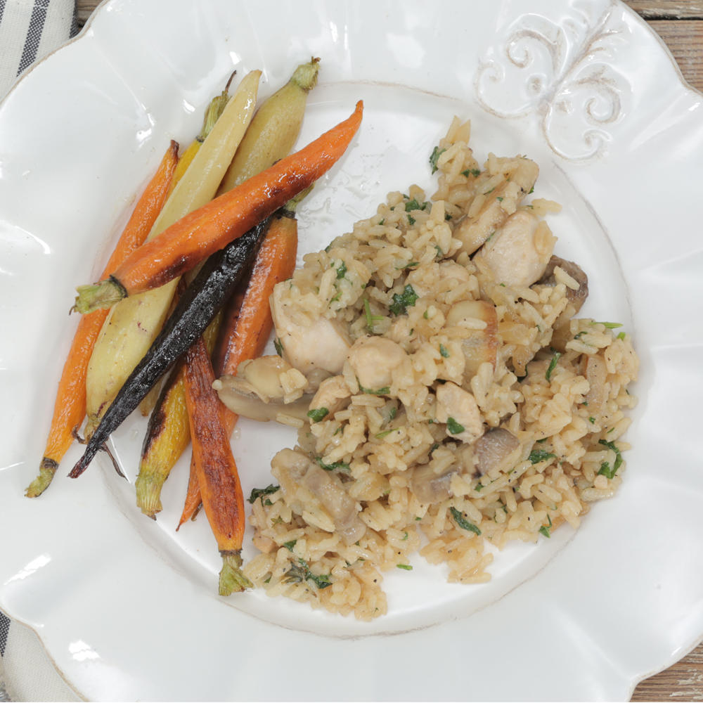 Parmesan Chicken and Rice