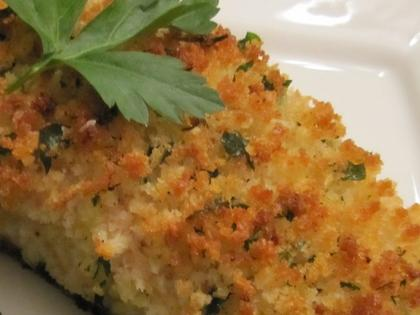Parmesan Crusted Baked Fish Recipe Myrecipes